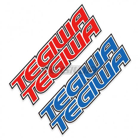 Tegiwa Classic Logo Decal Sticker 130cm (Pair)