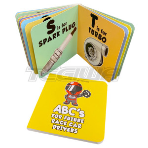 FAST KIDS CLUB ABC'S FOR FUTURE RACE CAR DRIVERS ALPHABET BOOK