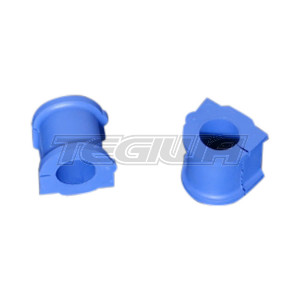 HARDRACE HARDENED RUBBER FRONT STABILIZER BUSHES BLUE 2PC SET MIUTSUBISHI COLT 04-13