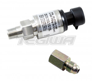 "AEM 100 PSIg Stainless Sensor Kit Stainless Steel Sensor Body 1/8"" NPT Male"