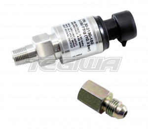 "AEM 150 PSIg Stainless Sensor Kit Stainless Steel Sensor Body 1/8"" NPT Male"