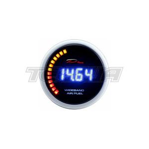 DEPO RACING 52MM LED DIGITAL WIDEBAND AIR FUEL RATIO AFR GAUGE WITH BOSCH 4.9 O2 SENSOR