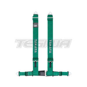 TAKATA DRIFT III HARNESS SNAP-ON GREEN