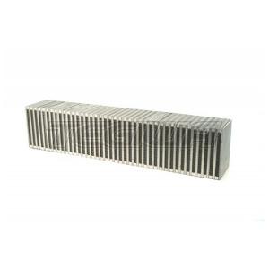 CSF HIGH PERFORMANCE BAR & PLATE INTERCOOLER CORE 27X6X4.5 (VERTICAL FLOW)