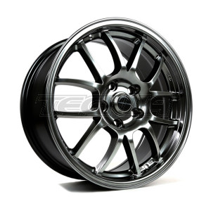 949 RACING 6UL ALLOY WHEEL 17 X 9 TUNGSTEN 5X100 ET48