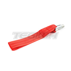 TEGIWA FIA/MSA HEAVY DUTY TOW EYE STRAP RACE RALLY CAR RED BMW M3 FXX 1 2 3 4 5 Series