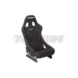 COBRA MONACO PRO STEEL FRAME SEAT - BLACK FABRIC