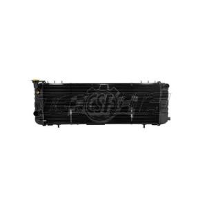 CSF ALLOY ALUMINIUM RADIATOR 91-01 CHEROKEE (XJ) 2.5 & 4.0L LHD W/ FILLER NECK 3 ROW COPPER CORE