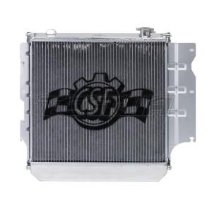 CSF ALLOY ALUMINIUM RADIATOR 05-06 JEEP WRANGLER HEAVY DUTY AUTO MANUAL