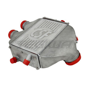 CSF BMW F8X M3/M4 - TOP MOUNT CHARGE-AIR-COOLER RAW FINISH