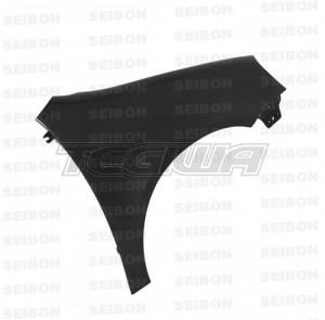 Seibon Carbon Fibre Wings Volkswagen Golf GTI 1K MK5 06-09 (10mm Wider) - Pair