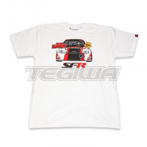SPEEDFACTORY RACING 2018 OUTLAW COMIC WHITE T-SHIRT