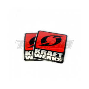 """KRAFTWERKS 3.5"""" DECAL - SILVER"""