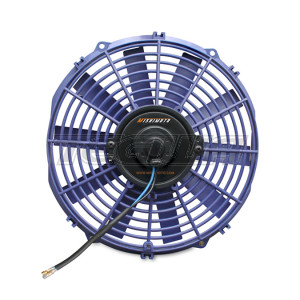 Mishimoto Slim Electric Fan 12in Blue