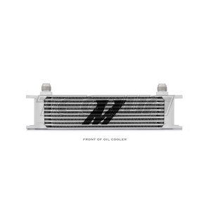 Mishimoto Universal 10 Row Oil Cooler Silver
