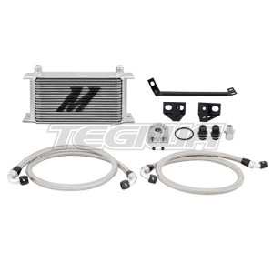 Mishimoto Oil Cooler Kit Ford Mustang Ecoboost 15-17 Silver