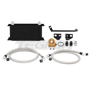 Mishimoto T-stat Oil Cooler Ford Mustang Ecoboost 15-17 Black