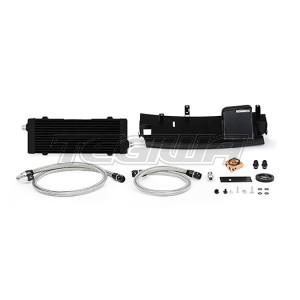 Mishimoto Thermostatic Oil Cooler Kit Ford Focus RS 16-18 Black