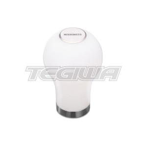 MISHIMOTO TEARDROP SHIFT KNOB, WHITE