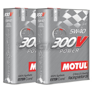 MOTUL 300V POWER 5W40 SYNTHETIC ENGINE OIL