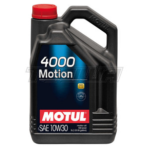 MOTUL 4000 MOTION 10W30 MINERAL ENGINE OIL