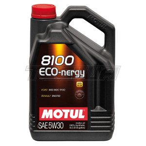 MOTUL 8100 ECO-NERGY 5W30 SYNTHETIC ENGINE OIL