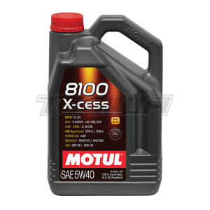 MOTUL 8100 X-CESS 5W40 SYNTHETIC ENGINE OIL