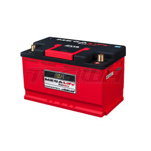 Mega-Life MV-082 LiFePO4 Lithum-Ion Lightweight Race Battery