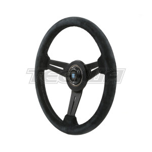 NARDI CLASSIC SUEDE LEATHER STEERING WHEEL 330MM