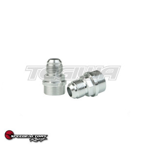 "SPEEDFACTORY M28 TO -10AN OR 1/2"" HOSE ALUMINUM FITTING"
