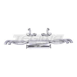 Milltek Cat Back Exhaust Audi R8 V8 4.2 FSI quattro 07-12 - Non-Res - RAW / Polished