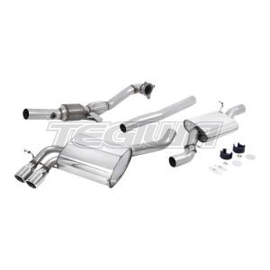 Milltek Exhaust Audi S3 2.0 T quattro Sportback 8P 07-12