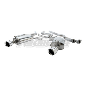 Milltek Cat Back Exhaust Ford Mondeo ST220 3.0 V6 Hatchback / Saloon 02-07 - RAW / Polished - GT100