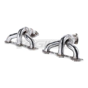 Milltek Free-flow Manifolds Exhaust Porsche 911 996 Turbo (inc X50/GT2) 00-05 - Fits K16 Turbo only -