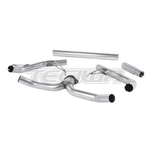 Milltek Cat Back Exhaust Skoda Octavia vRS 2.0 TDI 184PS Hatch & Estate 13-20 - Dual Outlet