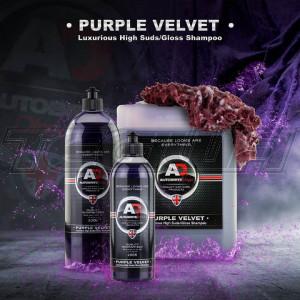 Autobrite Purple Velvet - Luxurious High Gloss/Suds Shampoo