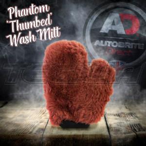 Autobrite The Phantom - Luxury Lambswool Thumbed Wash Mitt
