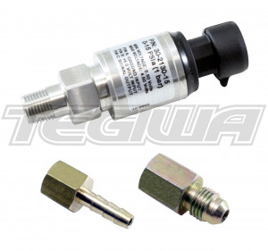"AEM 15 PSIa Or 1 Bar Stainless Sensor Kit Stainless Steel Sensor Body 1/8"" NPT Male"