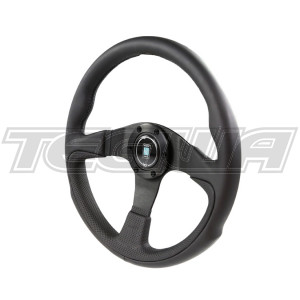 NARDI CHALLENGE LEATHER STEERING WHEEL 350MM