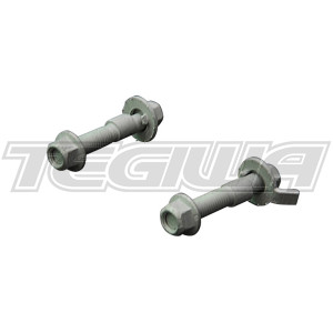 HARDRACE ADJUSTABLE 17MM CAMBER BOLTS -2 TO +2 DEGREE RANGE