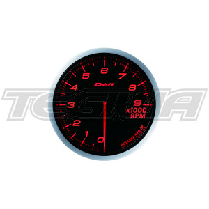 DEFI 80MM ADVANCE BF TACHO/RPM GAUGES BLUE