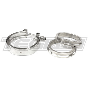 "TEGIWA 3"" V-BAND CLAMP FLANGES STAINLESS STEEL 76MM"