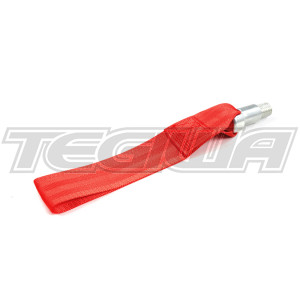 TEGIWA FIA/MSA HEAVY DUTY TOW EYE STRAP RACE RALLY CAR RED BMW M3 E36 E46 E92