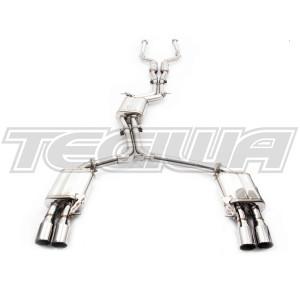 Invidia Q300tl Cat-Back Exhaust Audi S5/A5 3.0/4.2L 07+