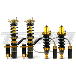 YELLOW SPEED RACING CLUB PERFORMANCE 3-WAY COILOVERS AUDI A4 Quattro B8 SALOON 08+