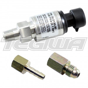 "AEM 100 PSIa Or 7 Bar Stainless Sensor Kit Stainless Steel Sensor Body 1/8"" NPT"