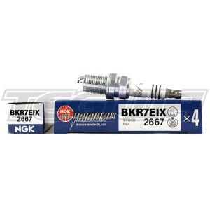 NGK Iridium IX Spark Plugs Heat 7 Volkswagen Audi 2.0 TSI EA888 (Gen 1) TSI EA113