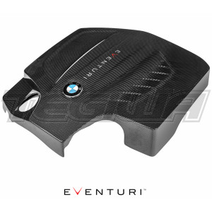 EVENTURI BLACK CARBON ENGINE COVER BMW F87 M2