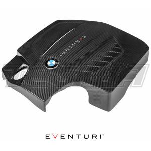 EVENTURI BLACK CARBON ENGINE COVER BMW F87 M2