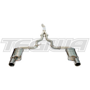 Invidia Q300 Cat-Back Exhaust Ford Mustang 2.3L Ecoboost